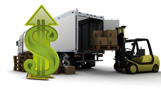 Forklift Loading Truck - Economy Up