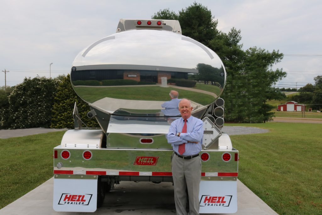 John Snodgrass, Vice President of International Sales at Heil Trailer