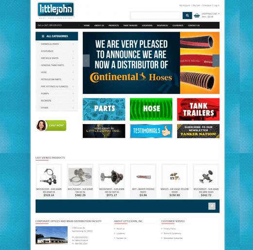Littlejohn New Website