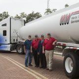 Werts Welding Donates Tank Trailer