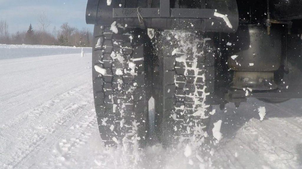 MICHELIN X MULTI D tire engineered with innovative tread-regeneration technology