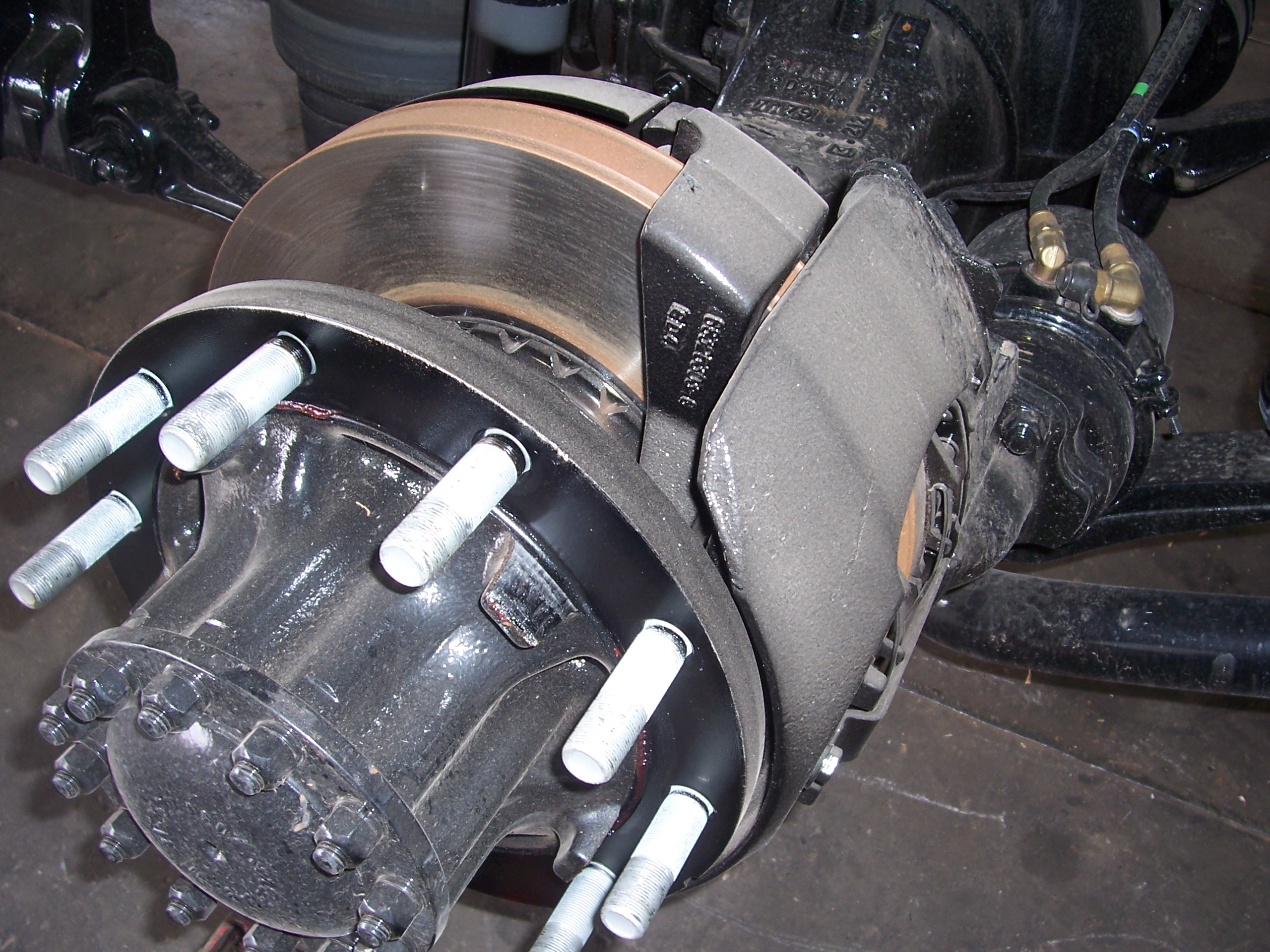 Air Disc Brake. air brake system maintenance, air brakes, air Brake System Issues
