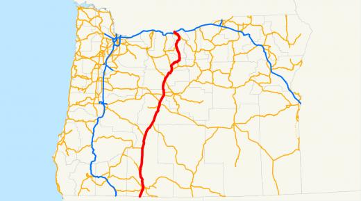 Oregon U.S. Highway 97