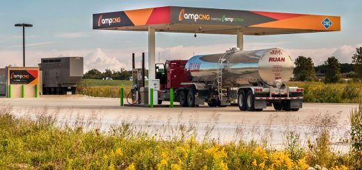 ampCNG Tanker filling uP