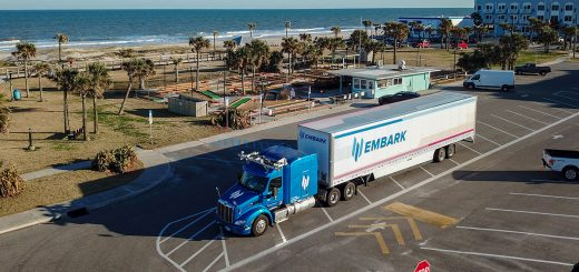 Embark completed a coast-to-coast test drive of its autonomous semi-truck