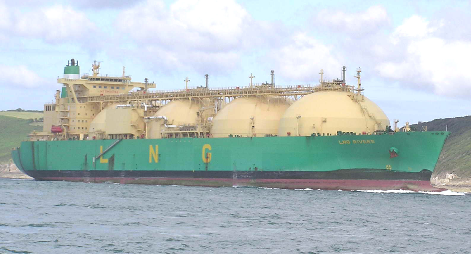 LNG Rivers, with a capacity of 135,000 cubic metres