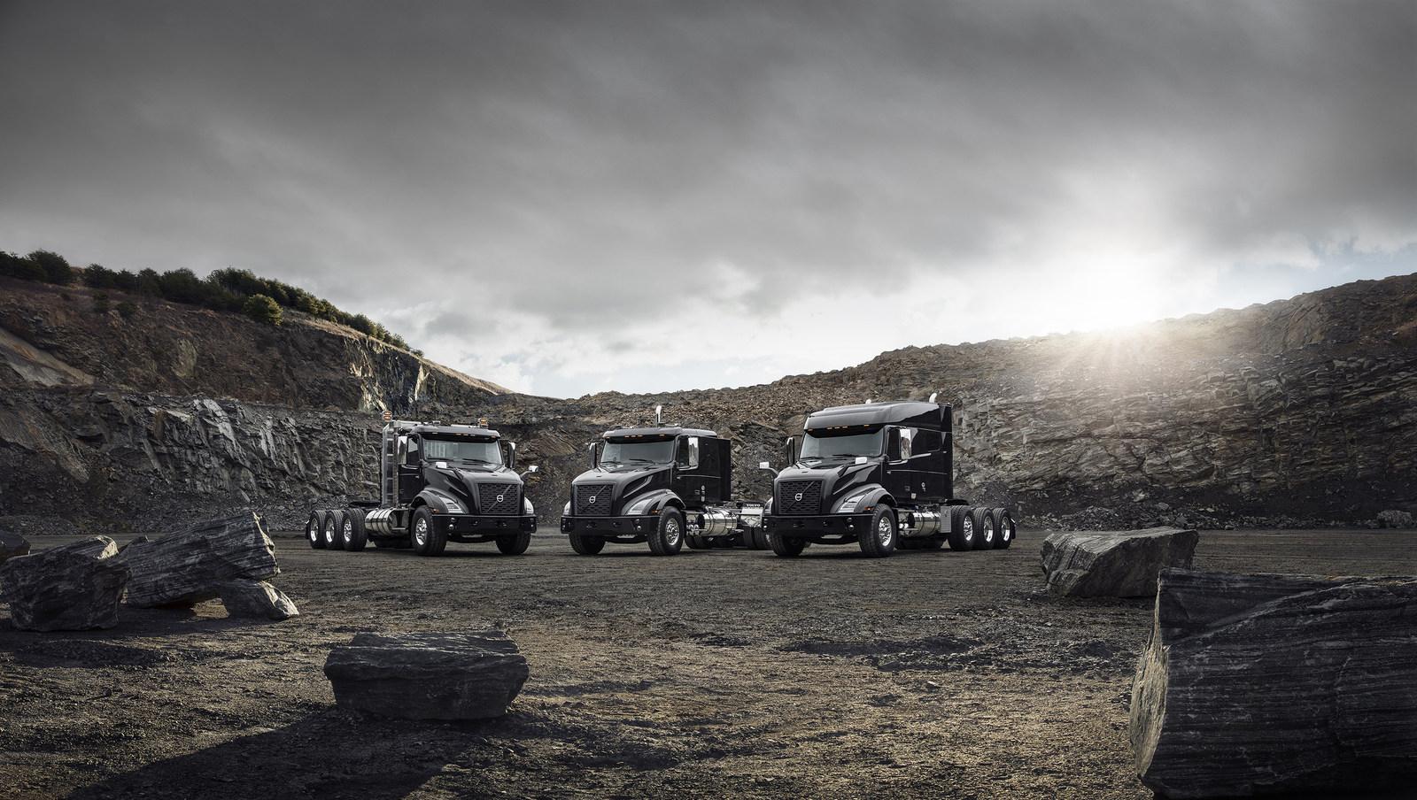 Volvo introduces heavy-haul tractor, VNX heavy-haul tractor model Groupshot