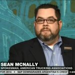 Sean McNally, vice president of public affairs and press secretary for ATA