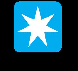 Maersk logo, Maersk incorporating Blockchain, Maersk blockchain