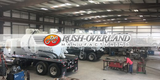 Rush-Overland Doubling Its Line of Vacuum Trucks