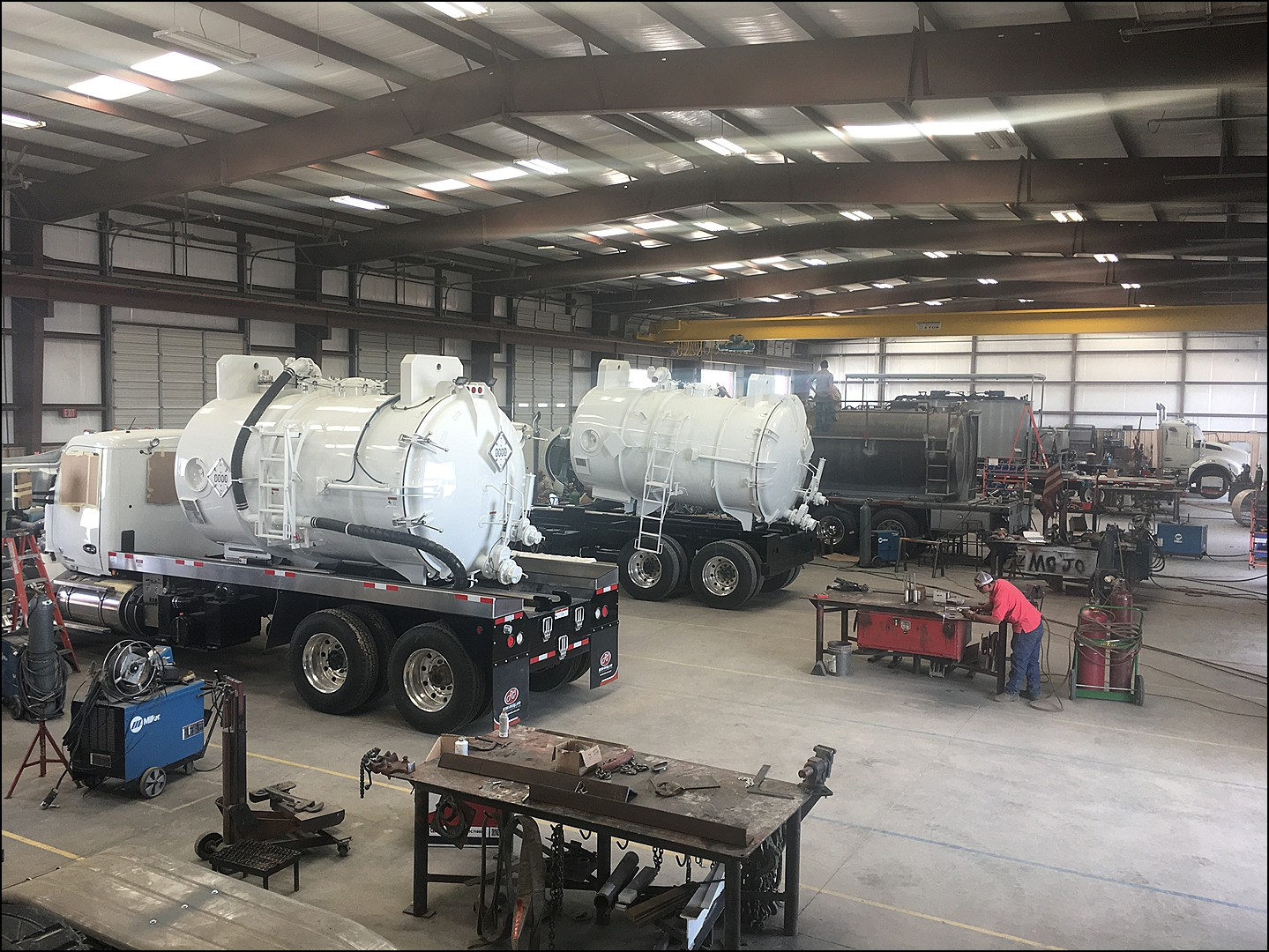 Rush-Overland Doubling Its Line of Vacuum Trucks