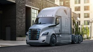 Daimler Trucks North America eCascadia, major truck manufacturers and start-ups have made progress on battery-electric Class 8 trucks, the technology is still two years away at best from becoming more commercially viable for fleets.