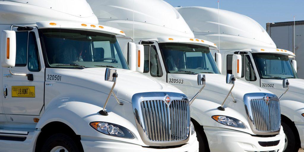 J.B. Hunt Transport, Inc Truck Fleet