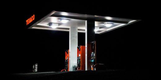 Gas Station, Texaco Gas Station