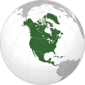 North America on Globe, global def industry market, DEF market growing, global def market