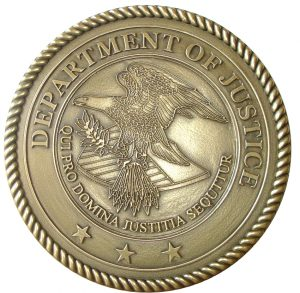US Dept of Justice Seal, indicted in biodiesel case, biodiesel case, Biodiesel Mixture Credit Fraud