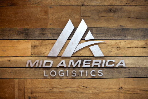 Mid America Freight Logistics Sign