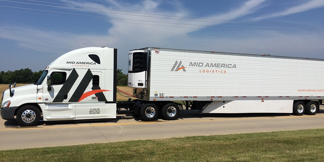 Mid America Freight Logistics Truck