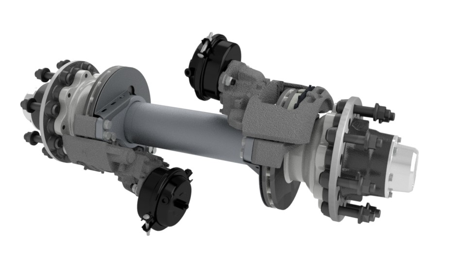 Ridewell Short Track Disc Brake Axles,Ridewell Releases Short Track Disc Brake Axles, new series of short track axles