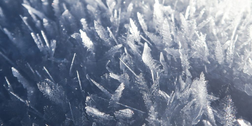 ice, frozen, cold, ice crystals