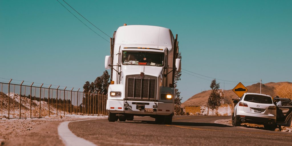 Truck on Road Turn, Class B CDL to Class A CDL