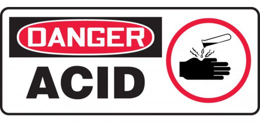 Danger Acid, Acid Label