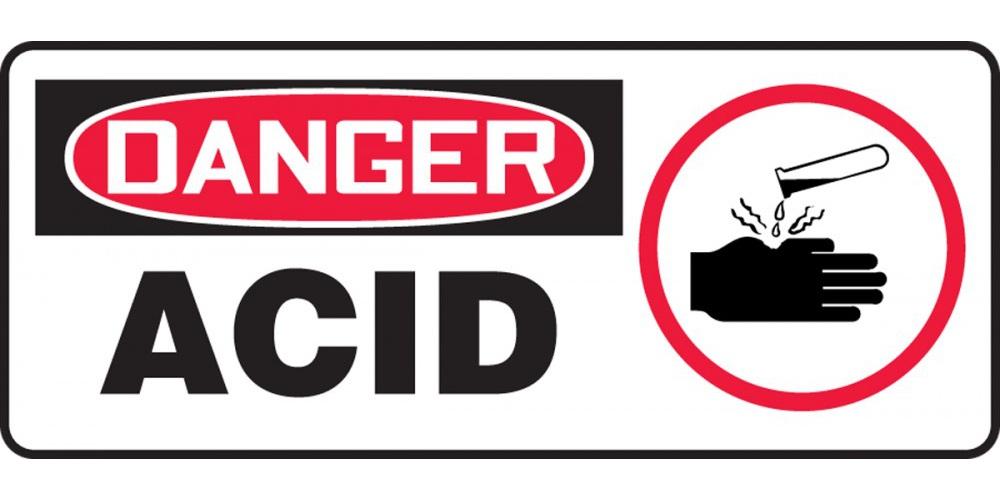 Danger Acid, Acid Label