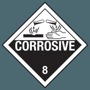 Hazmat, Hazmat Label, Hydrochloric Acid, HCL