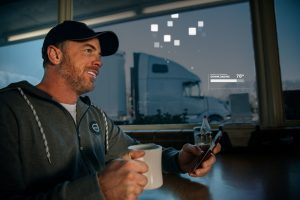 Volvo Trucks Remote Programming, drivers and automation work hand