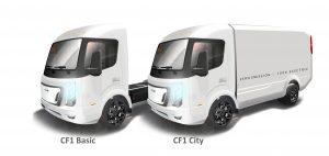City Frieghter CF1 electric Class 4 trucks
