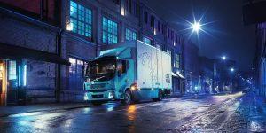 Volvo Trucks , HD Truck, EV Truck,, Night Street