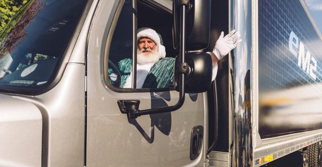 Freightliner eM2 Santa - Daimler Trucks North America