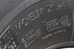 Michelin microchip RFID on Tire, RFID Tyre