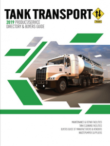 Tank Transport Trader's 2019 Product-Service Directory & Buyers Guide
