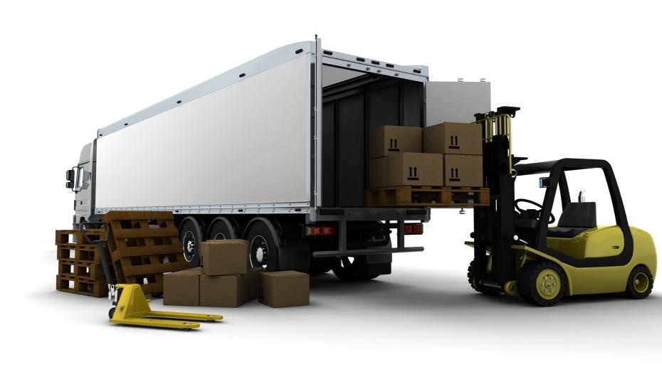 Forklift Loading Truck,dry van transportation