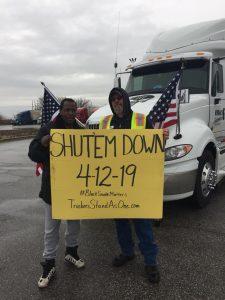 Black Smoke Matters 4-12 ShutDown Sign