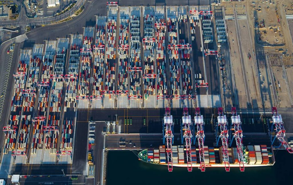 Port of Long Beach, Containers, Business Booming at Port of Long Beach