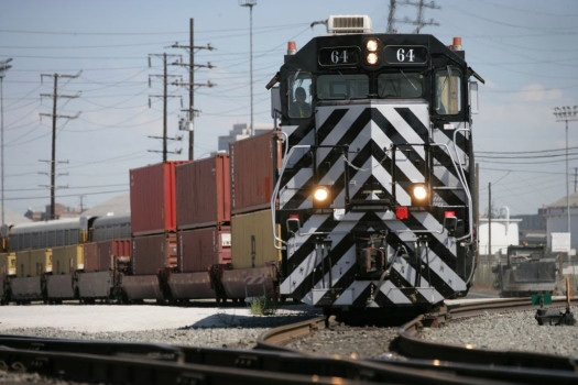 Increase in Rail Transport. The Port of Long Beach has received a $14 million state grant that goes toward adding 9,000 feet of railroad track at the port. Moving more cargo by train will reduce truck trips. Business Booming at Port of Long Beach