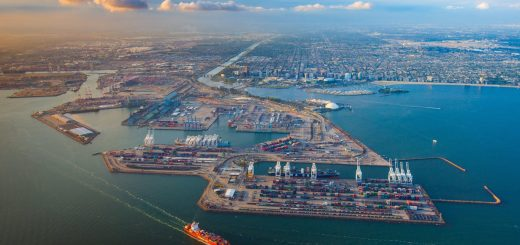 Port of Long Beach, California