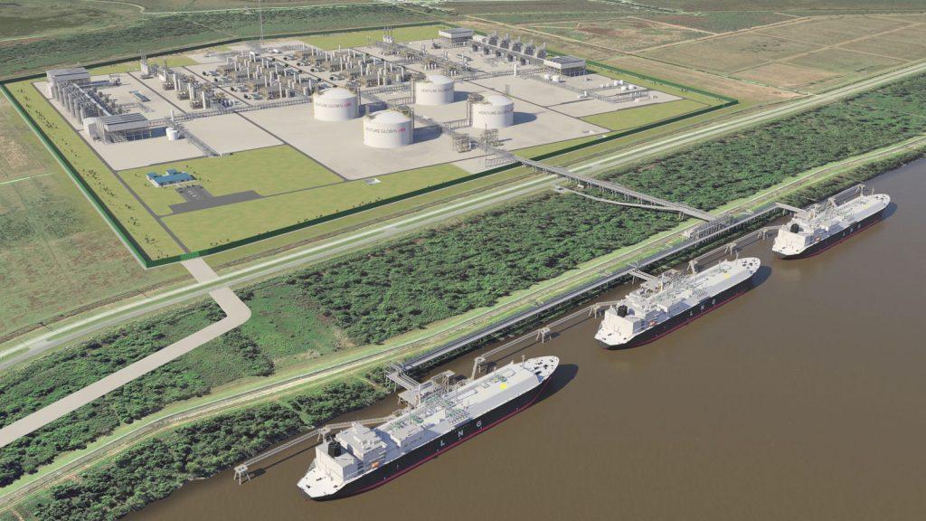 Venture Global LNG - Plaquemines LNG export facility