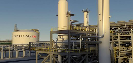 Venture Global LNG - Calcasieu Pass LNG export project