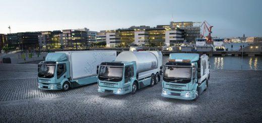 Volvo HD EV Truck Lineup