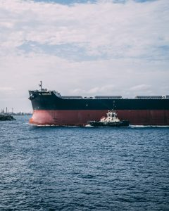 Oil Tanker, Oil tanker in sea