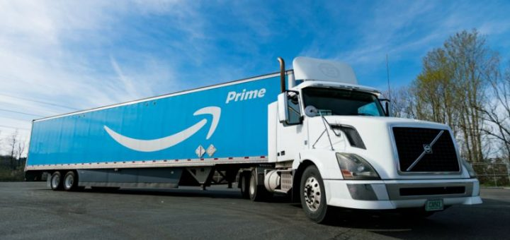 Amazon Prime Long-Haul Truck