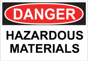 Danger Hazardous Materials