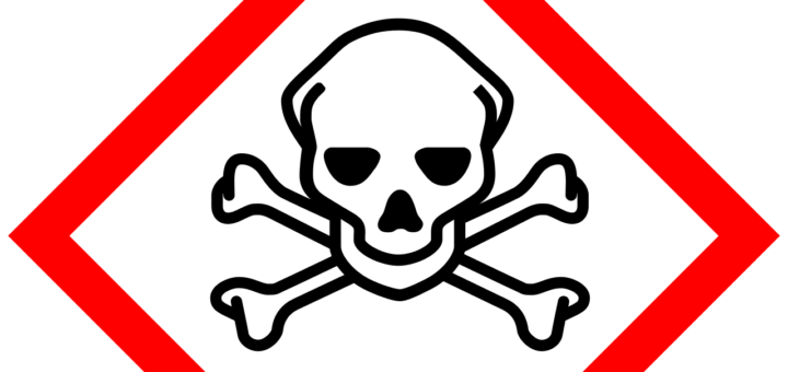 Globally Harmonized System of Classification and Labelling of Chemicals (GHS) pictogram for toxic substances
