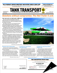 Tank Transport Trader Cover Aug 2019