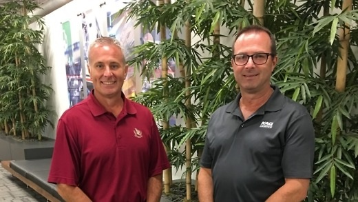 Mark Burns and Heath Colvin have joined KAG Logistics as directors of business development