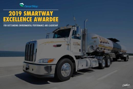 Dillon Logistics Smartway Award 2019