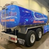 Boston Steel Ocean Blue DEF Tanker
